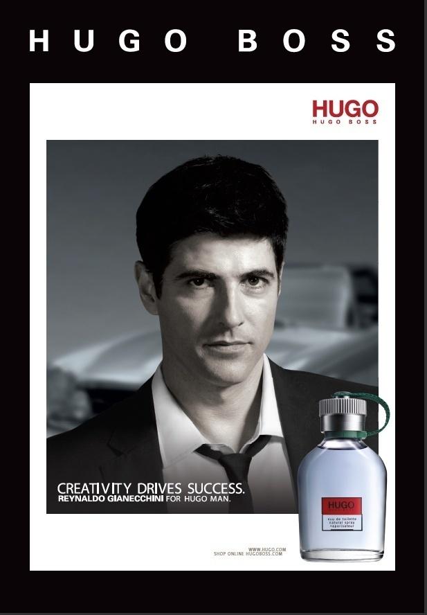 Fevereiro 2011: Reynaldo Gianecchini é o novo garoto-propaganda das fragrâncias Hugo Boss. O brasileiro foi escolhido, segundo a marca,