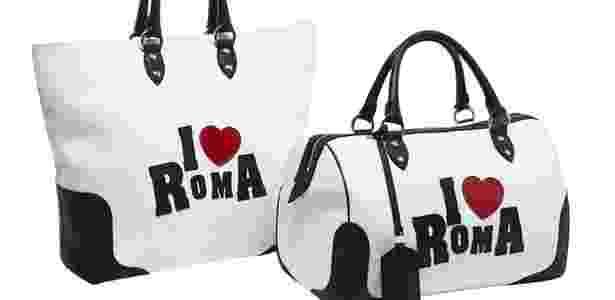 Bolsas da grife italiana Trussardi declaram amor à Roma; peças chegam às lojas em 14 de fevereiro - Divulgação