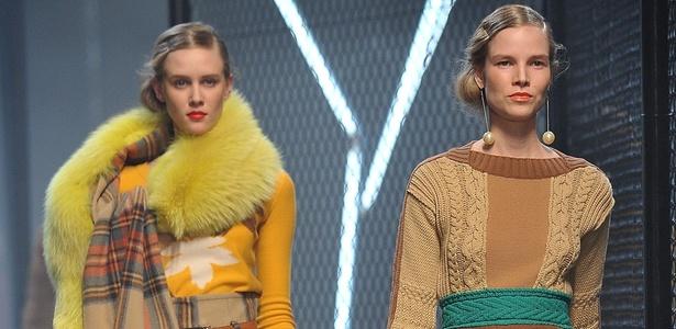Sonia Rykiel apresenta coleção Inverno 2011 na semana de moda de Paris (05/03/2011) - Getty Images
