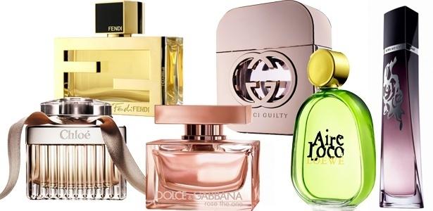 Temperaturas mais baixas permitem o uso de perfumes mais encorpados e quentes - Montagem UOL/Divulgação