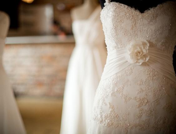 Vestidos de noiva expostos na quinta edição do evento