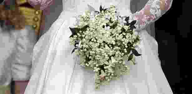 Buquê usado por Kate Middleton no casamento com o príncipe William - Reuters