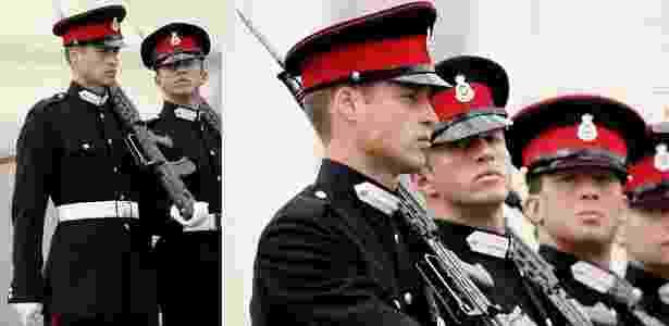 """Príncipe Charles desfila durante a parada Sovereign""""s na Academia Militar Real, em Sandhurst, Inglaterra (11/8/2006) - MJ Kim/Getty Images"""