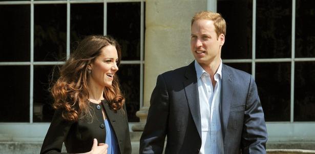 Kate Middleton e Príncipe William um dia após o casamento - Getty Images