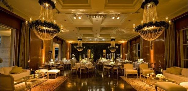 Com dois amplos salões e duas varandas, as locações do Jockey Club de SP custam de R$ 13.400 a R$ 20.700, dependendo do número de ambientes escolhidos - Divulgação