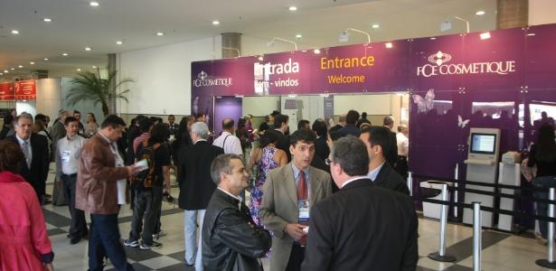 Entrada da FCE Cosmetique, a principal feira de cosméticos da América Latina espera atingir um público de 25 mil visitantes - Divulgação