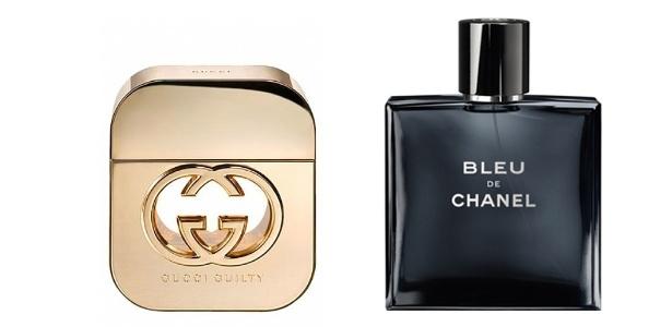390fbcc5297 Gucci Guilty e Bleu de Chanel são eleitos os melhores perfumes de luxo do  ano pelo FiFi Awards Imagem  Divulgação