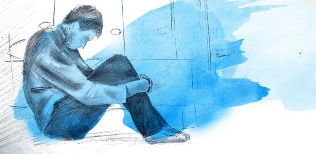A tristeza é um sentimento normal e não deve ser tratada como uma doença - Arte/UOL