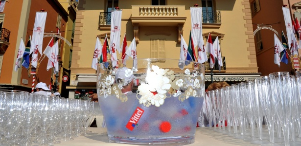 Preparativos para o casamento real do Príncipe Albert 2º e a ex-nadadora Charlene Wittstock em Mônaco (01/07/2011) - Getty Images
