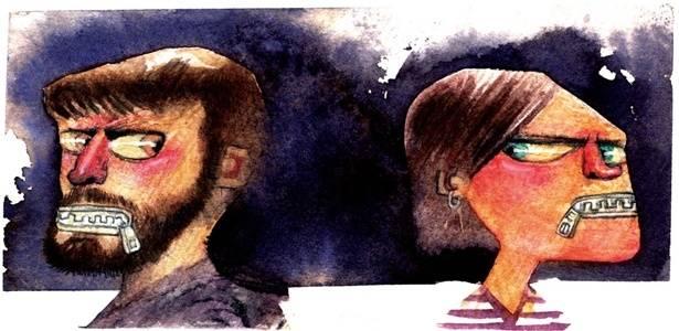 Em um relacionamento, é preciso ceder. Mas é possível equilibrar alguns detalhes com uma boa conversa - Davi Calil/UOL