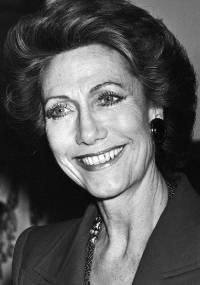 A parisiense Hélène Rochas em foto de 1986