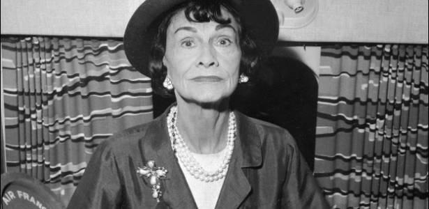 A estilista francesa Coco Chanel em foto da década de 1960 - Arquivo AFP