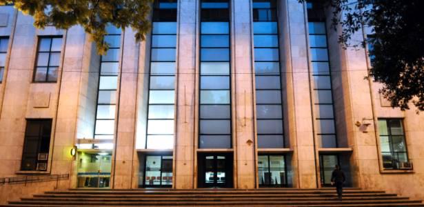 Fachada do tribunal da cidade de Rosário, na província argentina de Santa Fé - BBC
