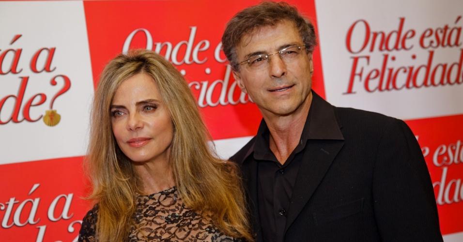 Bruna Lombardi e Carlos Alberto Riccelli
