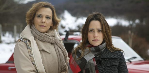 """Personagens de """"A Vida da Gente"""" Eva (Ana Beatriz Nogueira, à esq.) e Ana (Fernanda Vasconcellos) - Divulgação"""