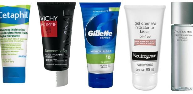 As peles do rosto e do corpo necessitam de hidratação adequada, cada uma de sua forma - Montagem/UOL