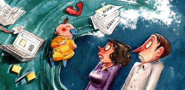 Luto da paixão, nascimento do primeiro filho e mudanças profissionais estão entre as crises mais comuns - Julia Bax/UOL