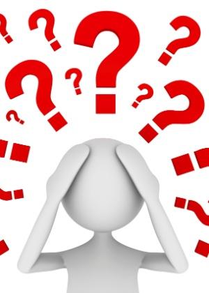 Dúvida, indecisão, incerteza, questionamento