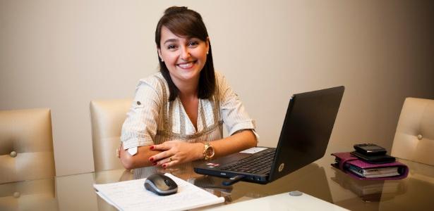 Juliana Manzatto, que aos 21 anos ocupou pela primeira vez um cargo de chefia - Isadora Brant/UOL
