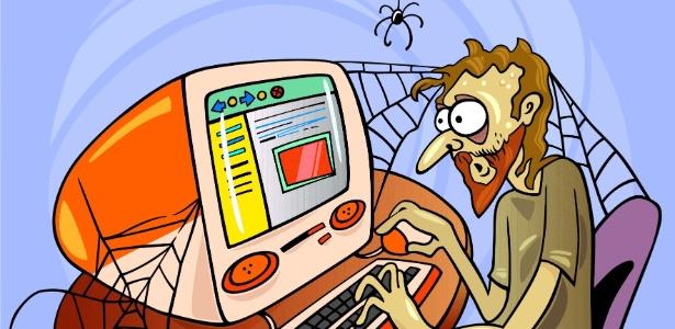 Vício em internet pode causar, entre outros problemas, estresse e ansiedade extrema - Thinkstock