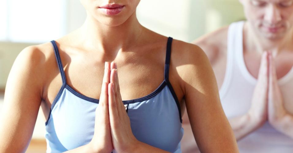Meditação, mantra, espiritualidade, relaxamento, namastê