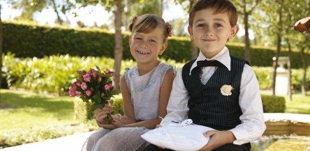 As crianças têm de estar à vontade e animadas com o casamento