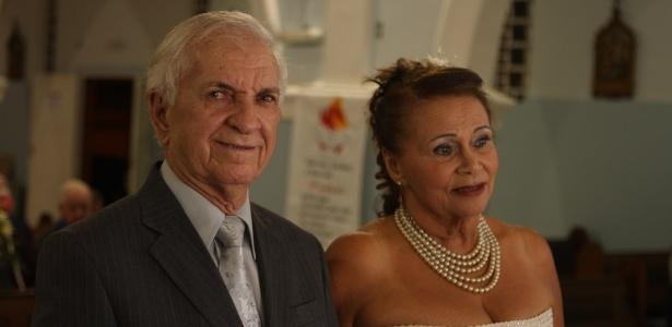 Após passar uma década viúva, Maria Evanir, 71 anos, se casou com José Geraldo Custódio, 80 - Arquivo Pessoal