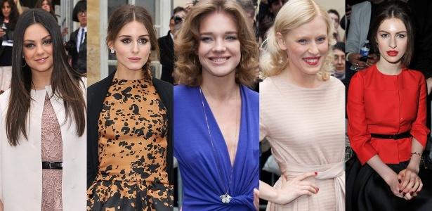 Beleza: Mila Kunis, Olivia Palermo, Natalia Vodianova, Anna Sherbinina e Tali Lennox