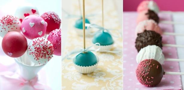 Bolo no palito é opção colorida e inusitada para substituir o bolo de casamento