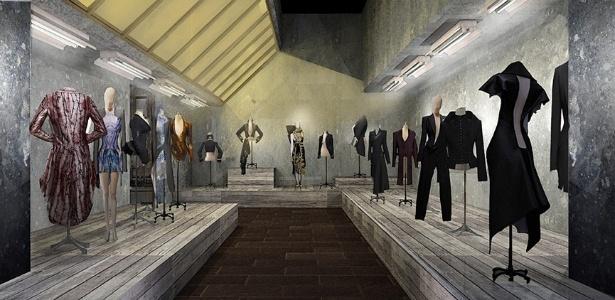 """Vista geral da exposição """"Alexander McQueen: Savage Beauty"""", no museu Metropolitan de NY - Divulgação"""