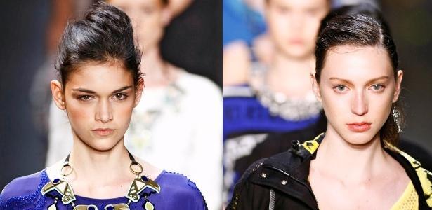 Montagem com detalhe para belezas de Patachou e 2nd Floor para o Verão 2012 (30/05/2011) - Montagem/UOL