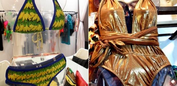 Biquíni da SkinBiquini e maiô de Desiree Necerssian para o Verão 2012, apresentados no salão de negócios Rio-à-Porter (31/05/2011) - Fabíola Ortiz/UOL