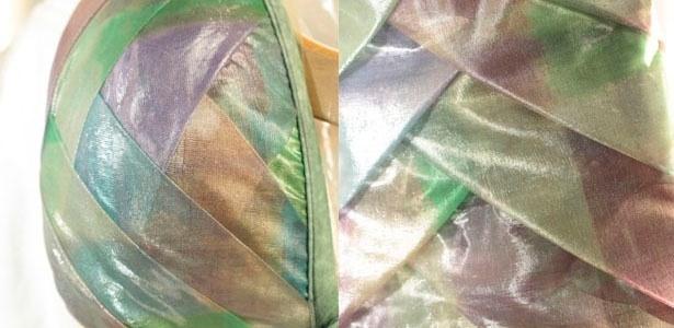 """Na coleção de Verão 2012 da Água de Coco, foi apresentado um tecido """"gelatina"""" - Julia Guglielmetti/UOL"""
