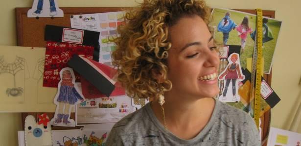 Silvia Ferraz é estilista da marca de moda infantil Spirodiro e desfilou na Casa de Criadores pela primeira vez este ano - Divulgação