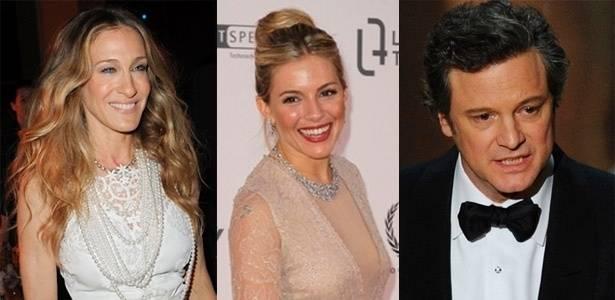 """Sarah Jessica Parker, Sienna Miller, Colin Firth e outras celebridades doam sapatos para ajudar o projeto """"Small steps project"""" a levantar dinheiro"""