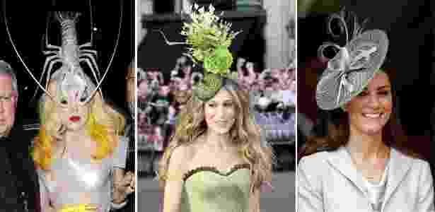Lady Gaga, Sarah Jessica Parker e Kate Middleton fazem parte da clientela famosa de Philip Treacy - Brainpix/Getty Images