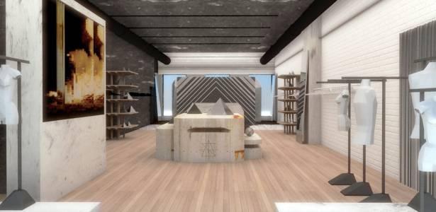 Imagem do projeto da filial nova-iorquina da multi-marcas Surface to Air - Divulgação