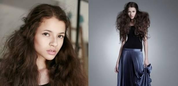 A paulista Ariane de Vasconcelos, de 15 anos, foi a vencedora do Elite Model Look 2011 - Divulgação