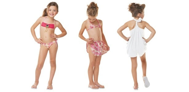 A coleção de moda praia infantil de Amir Slama pode ser encontrada nas multimarcas que vendem Bugbee - Divulgação