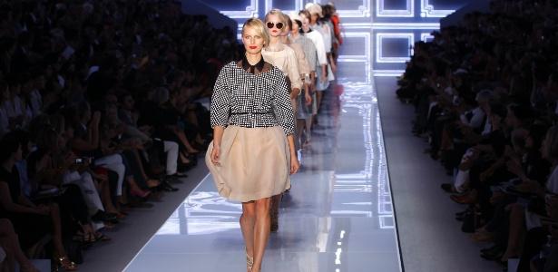 Desfile da Dior na semana de moda de Paris - Benoit Tessier/Reuters