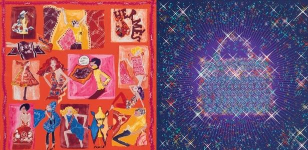 78f557403ec Dois lenços da Hermès  o primeiro é da linha