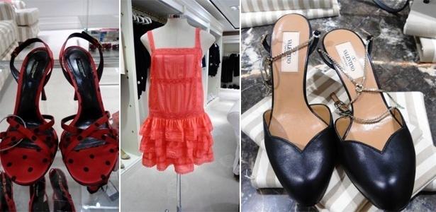 Na liquidação da Daslu a sandália Dolce & Gabbana sai de R$ 1.980 por R$ 990, o vestido Blugirl caiu de R$ 3.290 por R$ 1.645 e o sapato Valentino, sai de R$ 2.980 para R$ 1.490 - Divulgação