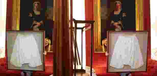 Calcinha gigante foi vendida por R$ 20.675 em um leilão. Você usaria? - Reuters