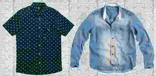 Opções de camisas para fugir do xadrez - Montagem/UOL