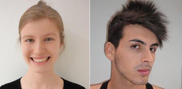 Isabela Vitta e Maycon Oliveira, vencedores do concurso Faces 2011 - Divulgação