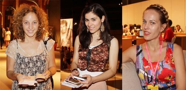As jornalistas Taylor Barnes, Lana Marie e Jenny Barchifield contam suas impressões com o Fashion Rio - Helio Motta/UOL