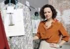 """""""Sandália rasteira é à prova de erro para os dias mais quentes"""", fala a estilista Andrea Marques sobre se manter elegante no calor - Helio Motta/UOL"""