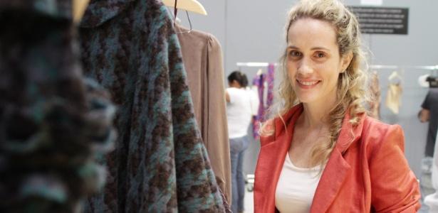 Nica Kessler momentos antes do desfile de sua grife no Fashion Rio 2012 - Helio Motta/UOL