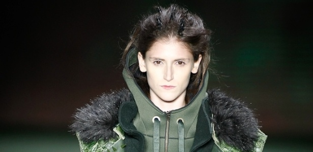 Look da Osklen para o Inverno 2012 SPFW (19.01.2012) - Alexandre Schneider/UOL