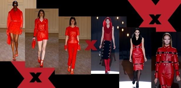 Vermelho x vermelho 615x300 spfw inverno 2012 - Alexandre Schneider/UOL